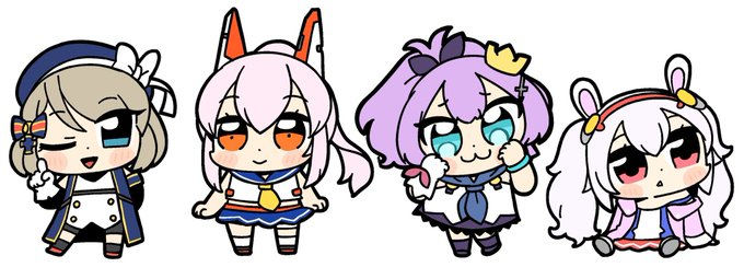 Pop Team Epic mangaka draws Azur Lane characters in his own style