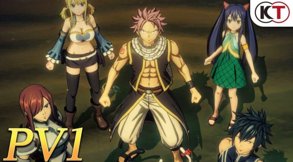 Koei Tecmo releases Fairy Tail RPG's very first PV