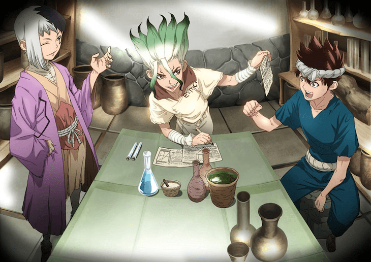 Dr. Stone is getting its own nutrition supplement package from COMP