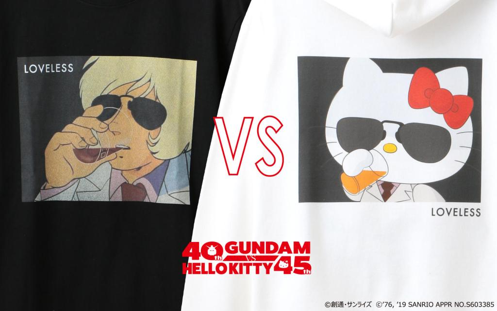 Gundam x Hello Kitty collaboration now reveals new T-Shirt line