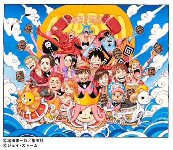 One Piece and Arashi team up for new music video