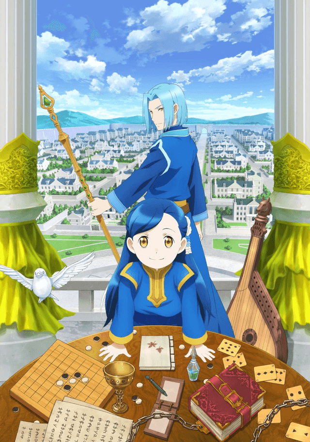 Isekai anime Ascendance of a Bookworm gets a second season next year