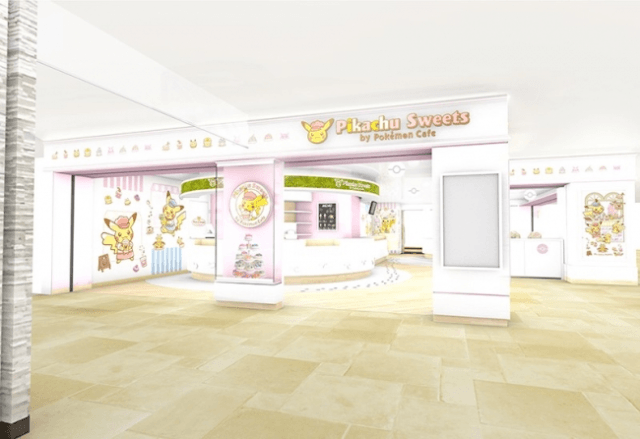 Pokemon is finally getting its own take-out pastry shop!