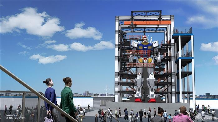 Gundam Factory Yokohama to feature moving life-size RX-78-2 Gundam!