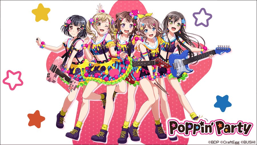 BanG Dream!'s Poppin' Party finally hits #1 in the Oricon Charts for first time