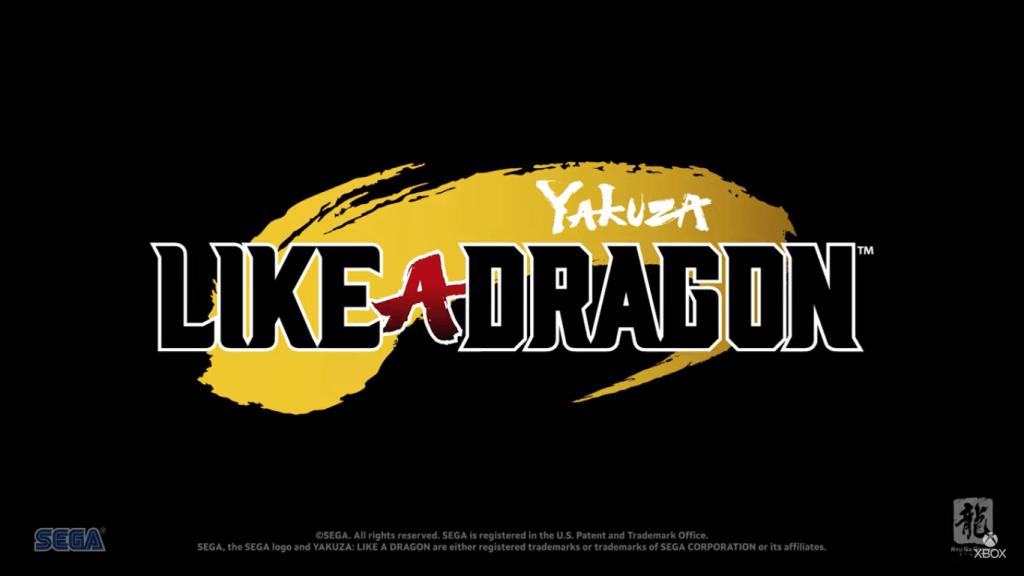 "SEGA Announces ""Yakuza: Like a Dragon"" for the XBOX SERIES X"