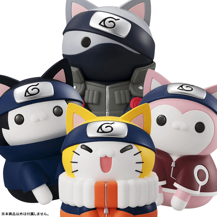 """Check Out the Mega Trea Shop's Super Cute """"Nyaruto!"""" Collection! Get them from AFASHOP.co!"""