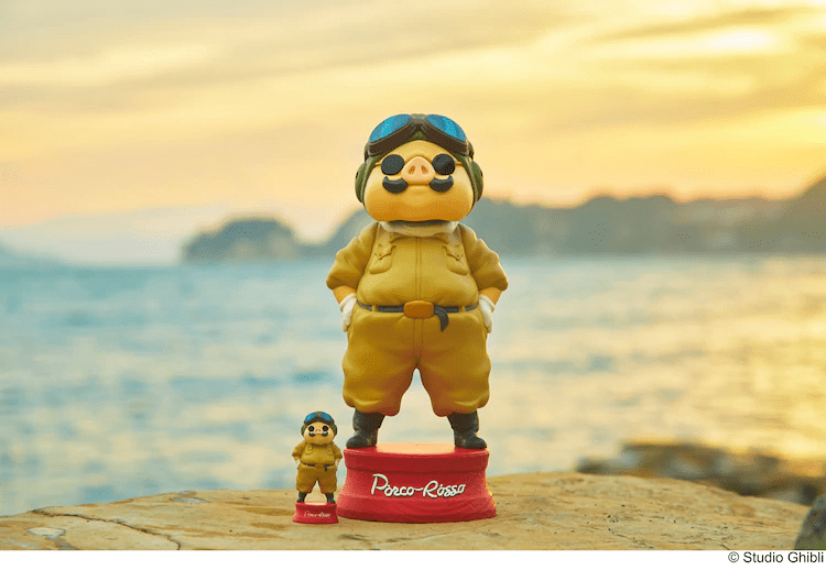 """Jumbo- and Mini-sized """"Porco Rosso"""" Figures Out Now at New GBL Store in Shibuya"""