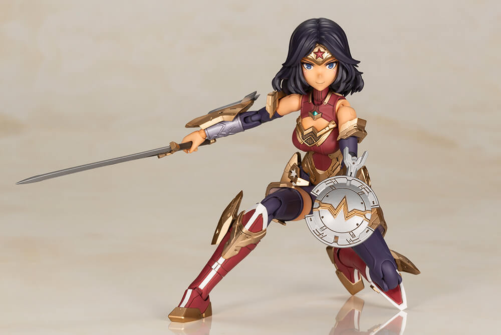 "Grab this Amazing Kotobukiya ""Wonder Woman Humikane Shimada Ver. Plastic Model Kit"" on AFASHOP.co!"