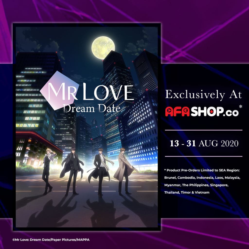 "Don't Wait to Get Your Hands on this ""Mr Love: Dream Date"" Pre-order via AFASHOP.co"