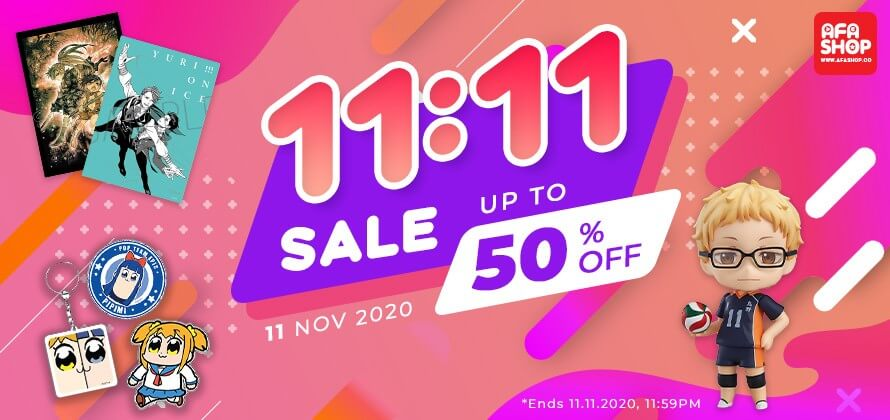Fill the Void in Your Heart with AFASHOP.co 's 11.11 Sale!