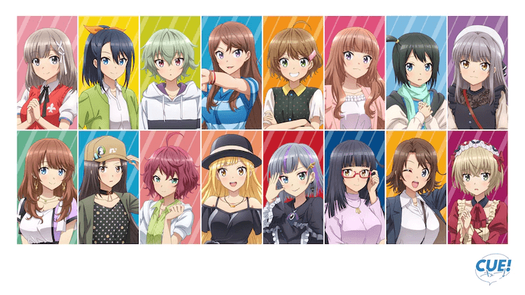 """Voice Actor Training Game """"CUE!!"""" Gets TV Anime Adaptation"""