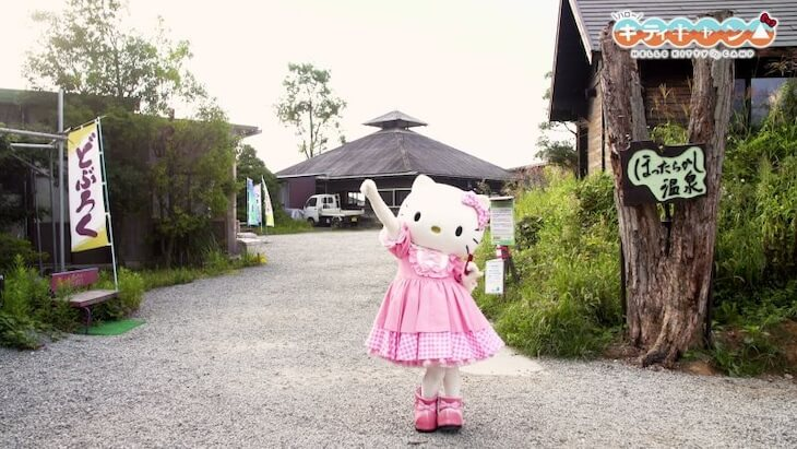 "Hello Kitty and ""Yurucamp"" Release New Video Promoting Yamanashi Prefecture"