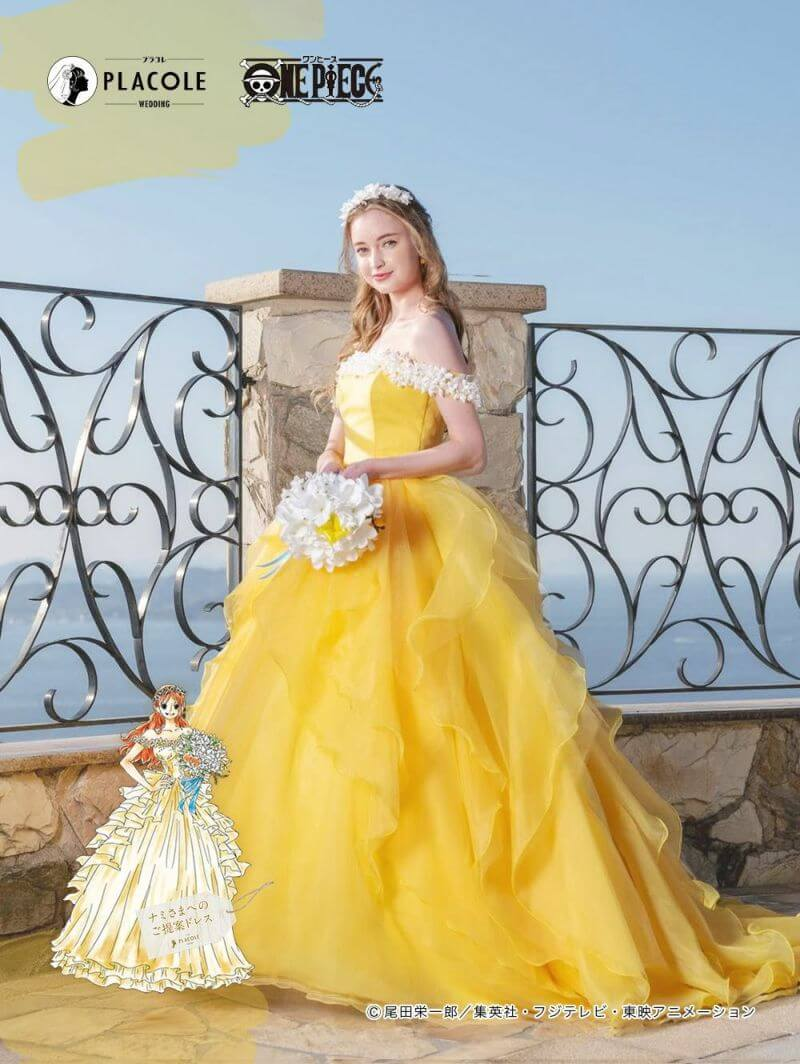 """Say """"Yes"""" to the Pirate of Your Dreams with the """"ONE PIECE"""" PLACOLE Wedding Collection"""