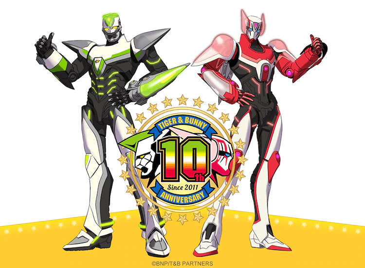"""""""TIGER & BUNNY"""" S1 Now on YouTube for 10th Anniversary!"""