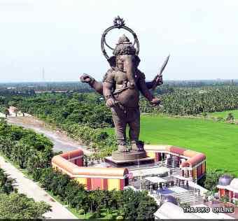 বিশ্বের দীর্ঘতম গণেশ স্ট্যাচু Ganesha-Park-Khlong-Khuean