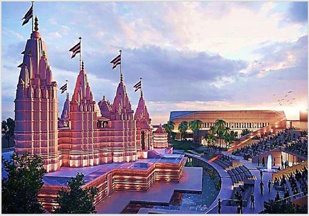 আবু ধাবিতে নির্মিত হিন্দু মন্দির