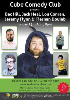 Comedy Poster Malvern Worcestershire Website Design Digital Marketing