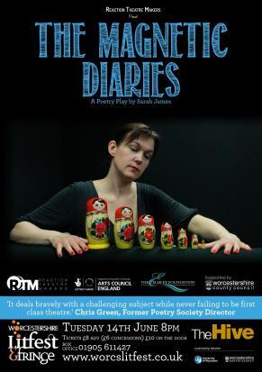 SoJo Designs Malvern Magnetic Diaries Poster Worcester