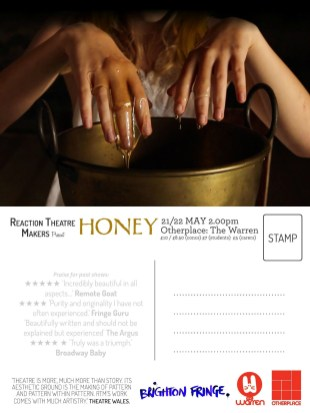 SoJo Designs Malvern Postcard Honey