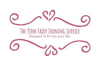 Pink Fairy Ironing Service Website Design Logo WordPress Hosting