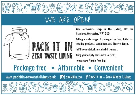 Pack It In - A5 Flyer (for home printing)