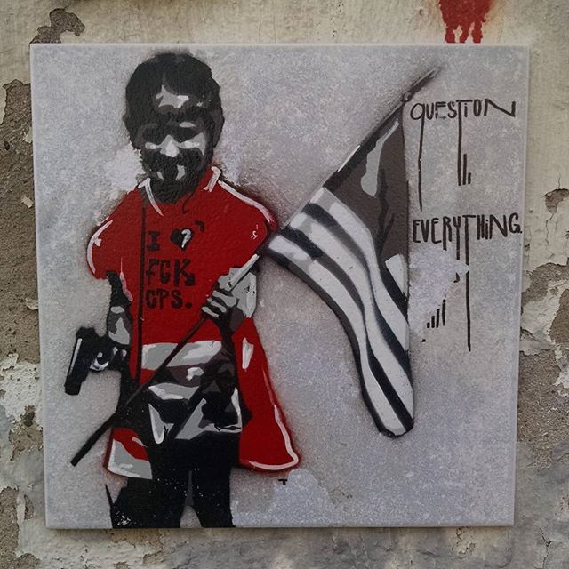 Question Everything. #potsdam #streetart #graffiti #art #kunst - from Instagram