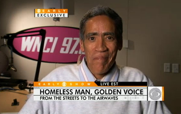 My thoughts on Ted Williams, homelessness and the value of fame in America