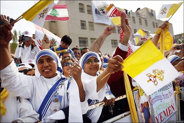 Pope Benedict visiting Jordan (4/6)