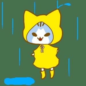 雨の日[シアン]