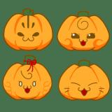 そこねこ。かぼちゃ