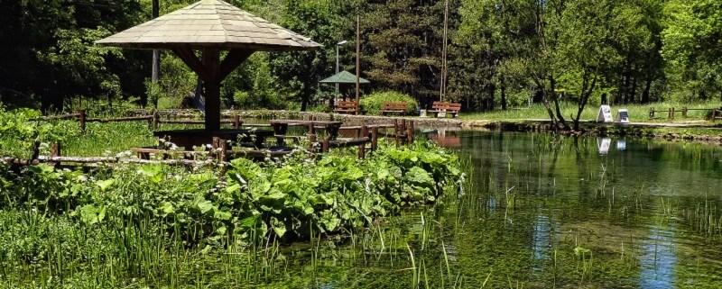 Ozren Sokobanja jezero ribnjak
