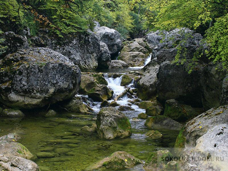 Горная речка Коккозка