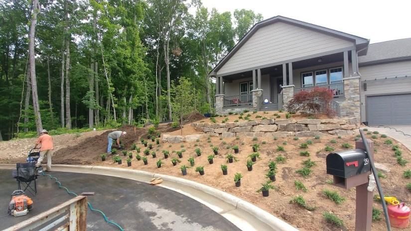 Sokol Landscaping at work