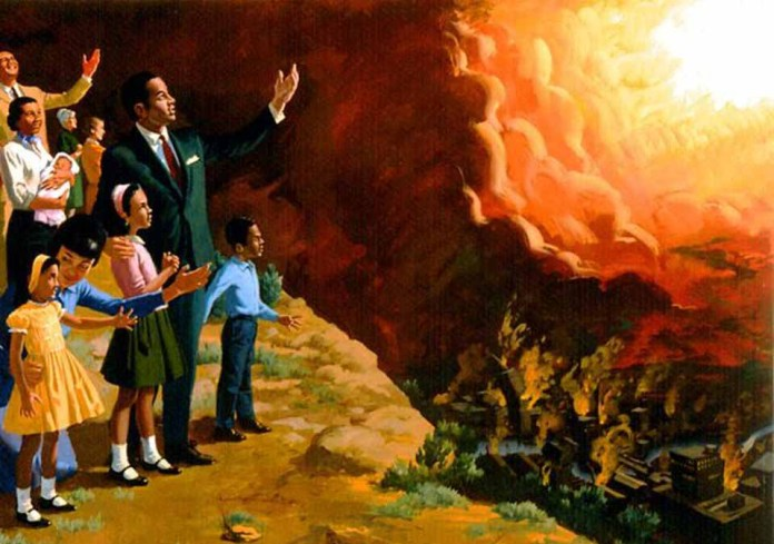 Как сможет Бог уничтожить грешника при своем пришествии?