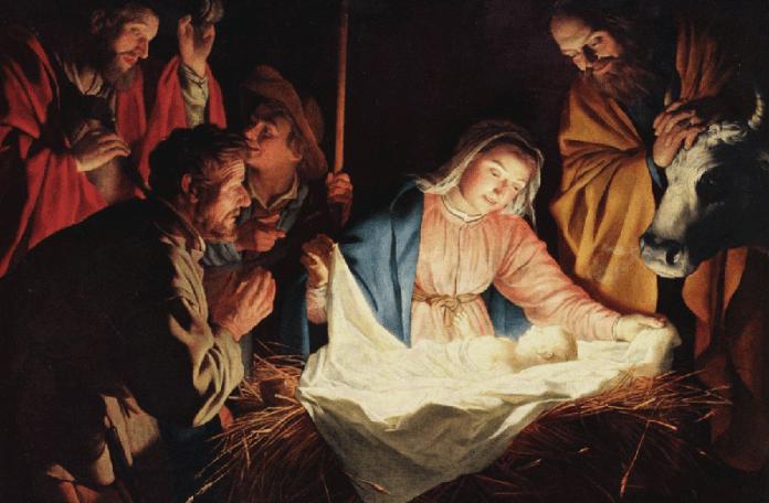Герард ван Хонтхорст Поклонение пастухов