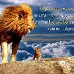 Будь твёрд и мужествен