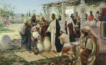 Первое чудо Иисуса Христа