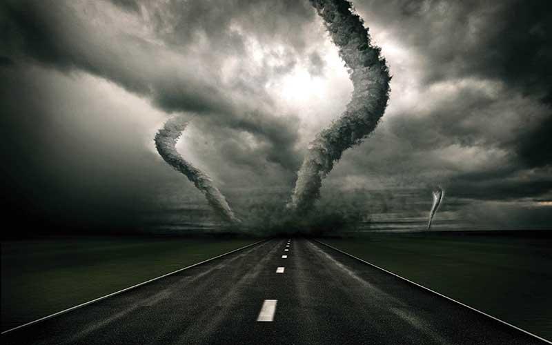 Предсказанные стихийные бедствия