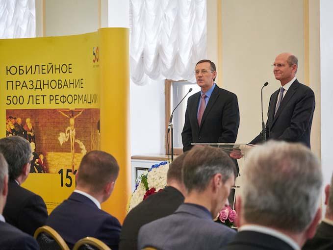 Российские протестанты отпраздновали 500-летие Реформации в Доме Пашкова