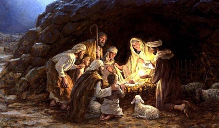 Благая весть о рождении Христа