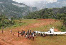 Адвентистская авиация совершила первый полет в отдаленную деревню