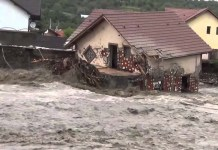 Проект «Надежда над водой» помогает пострадавшим от наводнений в Румынии