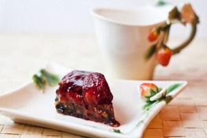 Фруктовый пирог без выпечки