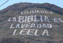 Надпись на «Библейской горе» в Мексике побила 4 мировых рекорда