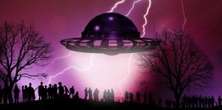 Встреча с пришельцем