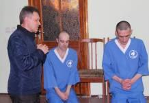 Двое пожизненно осужденных приняли крещение в Виннице