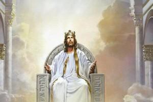 Иисус Христос на троне