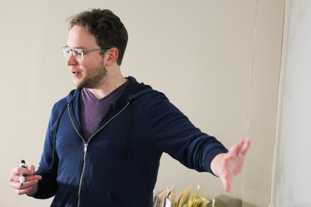 Brad Pauquette teaching