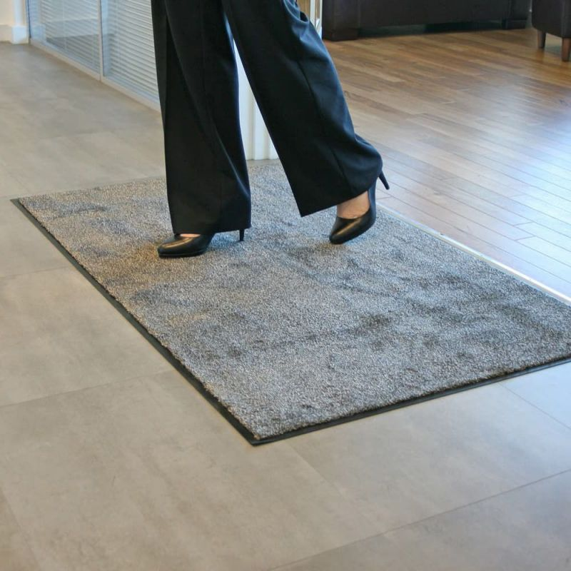 tapis d entree en microfibres ultra absorbant tapis d accueil